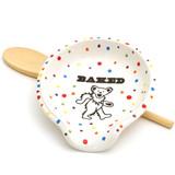 Dancing Bear Spoon Rest, Baked Spoon Rest
