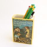 Nancy Drew Parody Book Shaped Pencil Container, Mature Language