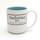 Custom Latitude Longitude Mug - Choice of Colors