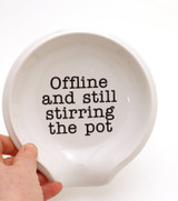 Stirring the Pot spoon rest, funny gift, funny spoonrest