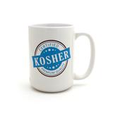 Certified KosherMug,  Funny Jewish Mug, Judaica by Lorrie Veasey
