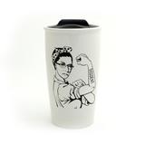 RBG Travel Mug, Ruth Bader Ginsburg, Dissent Mug