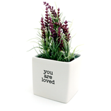 You Are Loved Planter, Pencil Cup, Container