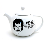 Hello is it Tea You're Looking For, Round Teapot
