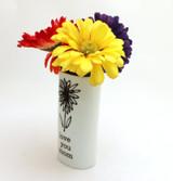 Love You Mom, Oval Vase, Small Vase
