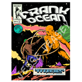 Frank Ocean Print, Faux Comic Book Cover Art by Jesse Veasey