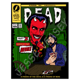 Grateful Dead Print, Comic Book Cover Art by Jesse Veasey