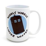 Doctor Who 15 oz. Mug, Wibbly Wobbly Coffee Woffee