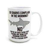 Mature Shark - 15 oz Mug