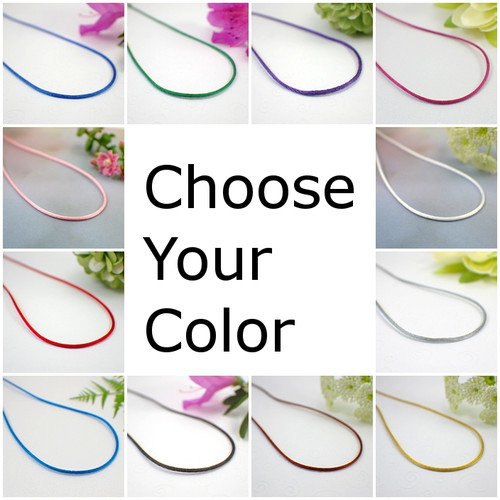 1.5mm satin necklace cords 13-36 inches