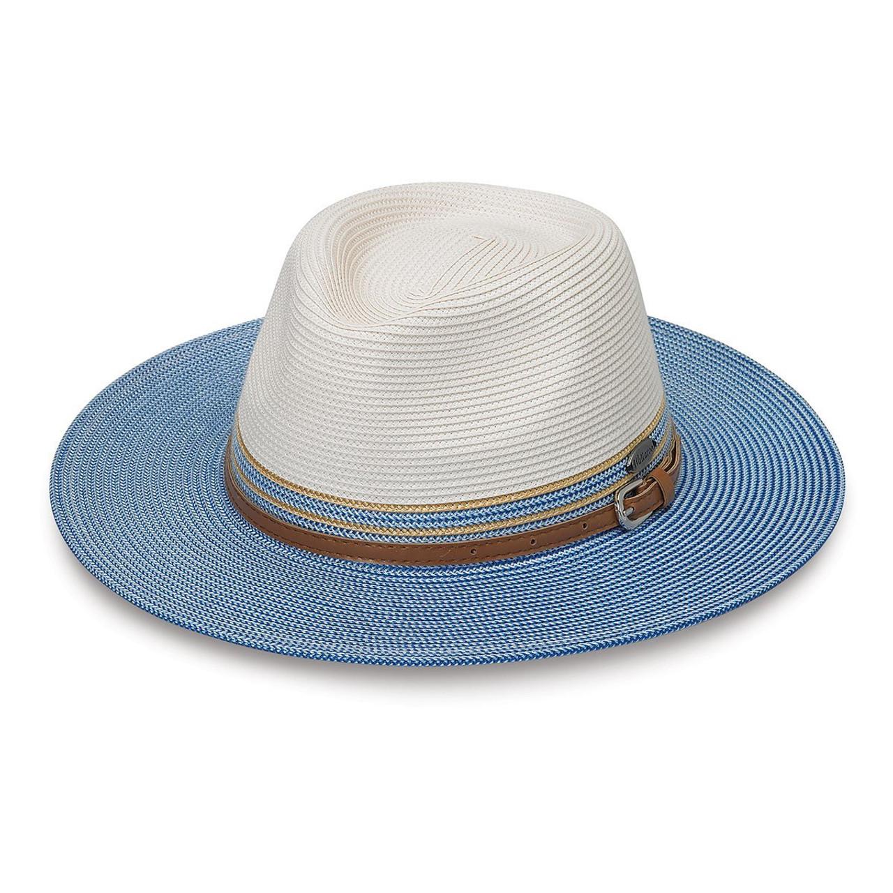 06d42b36ee8 Womens Wallaroo kristy UPF50+ hat ivory ice blue