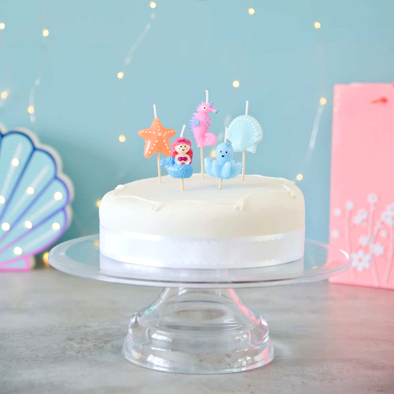 Surprising Under The Sea Themed Birthday Party Cake Candles Personalised Birthday Cards Paralily Jamesorg