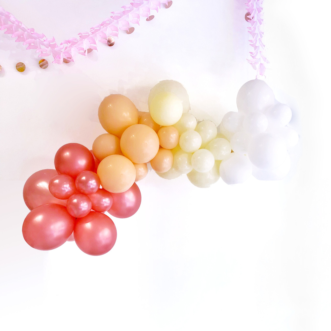 Blush Balloon Garland Decoration Kit