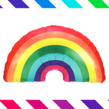 The Ultimate Rainbow Party Decor