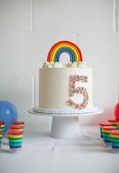 Rainbow Themed Children's Party