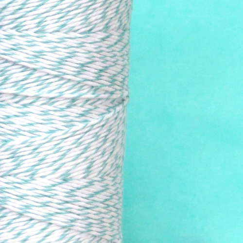 Teal Bakers Twine made of cotton for Gift Wrap, Favours and Craft Projects