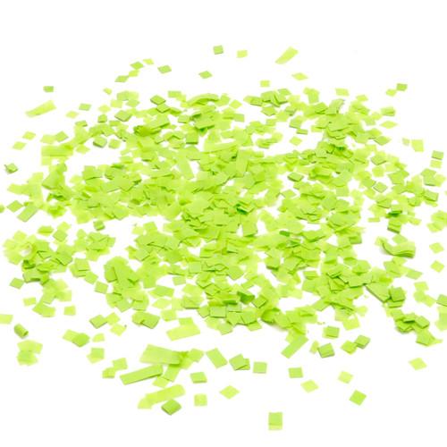 Green tissue paper party confetti