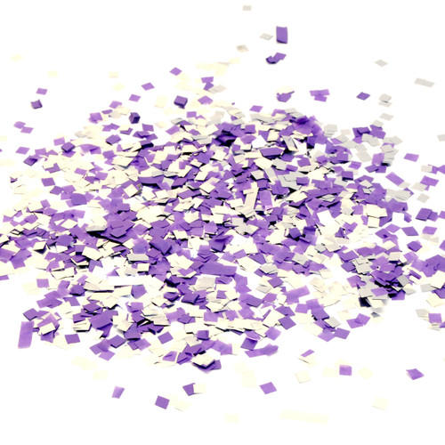 Midnight mix purple and silver tissue paper party confetti