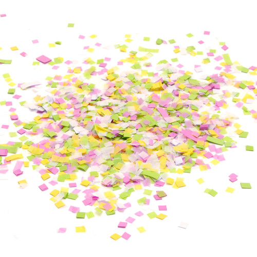 Spring sorbet pastel mix tissue paper party confetti