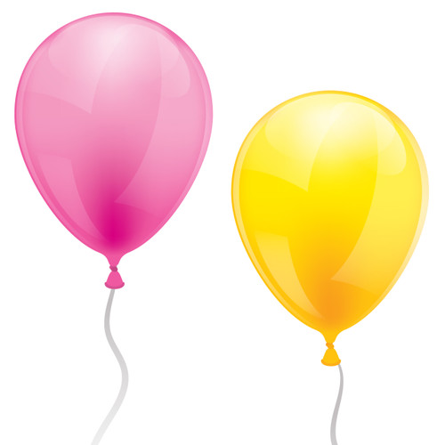 Helium Party Balloons in Brighton. Pick up from the Peach Blossom party shop.