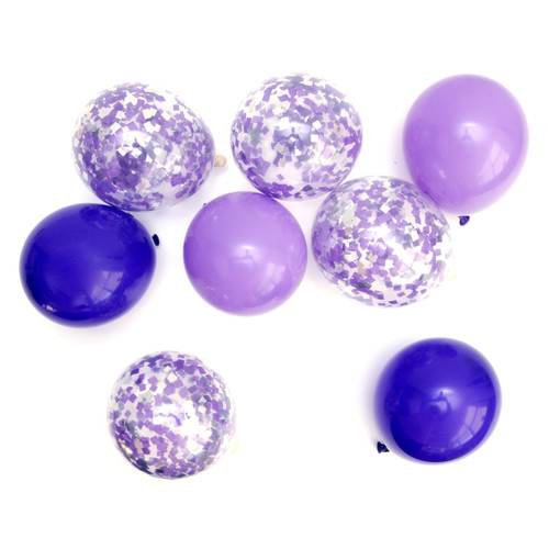 Purple Mix Balloon Collection