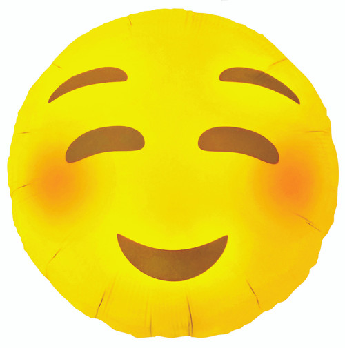 Emoji Smiling Face Party Balloon