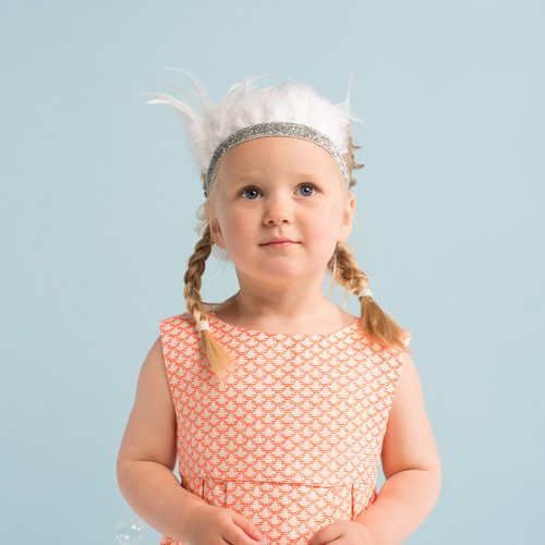 Feather Crown Dress Up Accessory Kit for Children's Fancy Dress or Hen Party