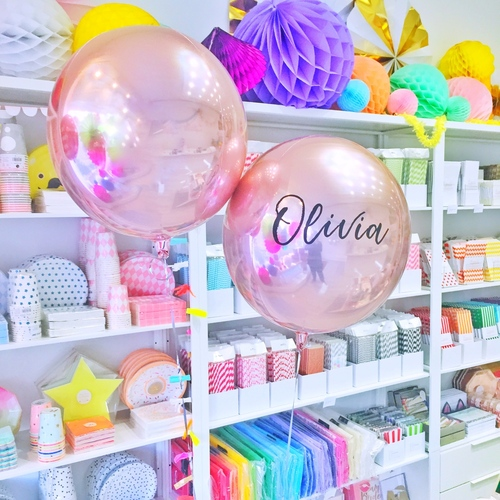 Personalised Orbz Balloon