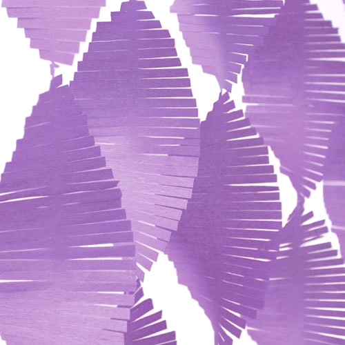 Purple Fringe Garland Streamer Party Decoration for kids birthday parties, weddings, photo booth backdrops and baby showers
