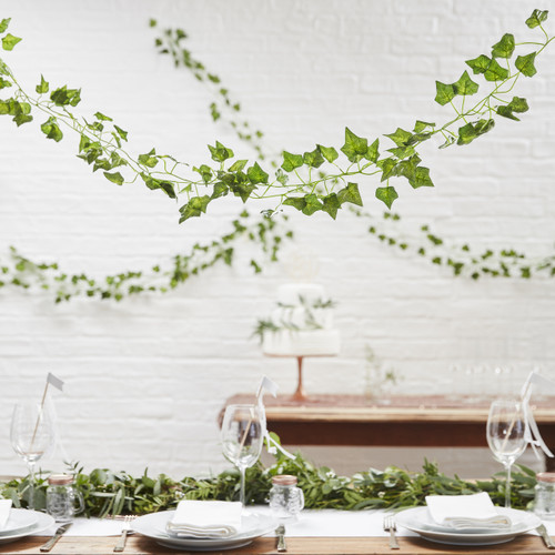Rustic wedding vine decoration