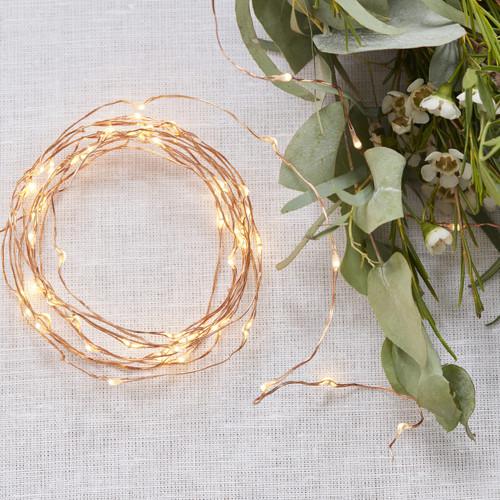 Rose Gold String Fairy Lights