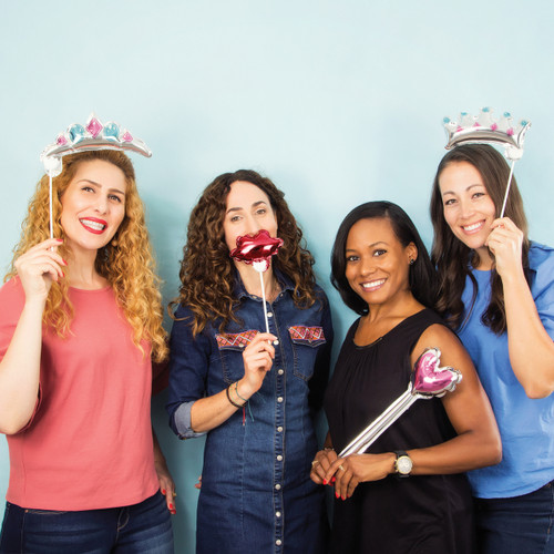 Balloon Photo Princess Props