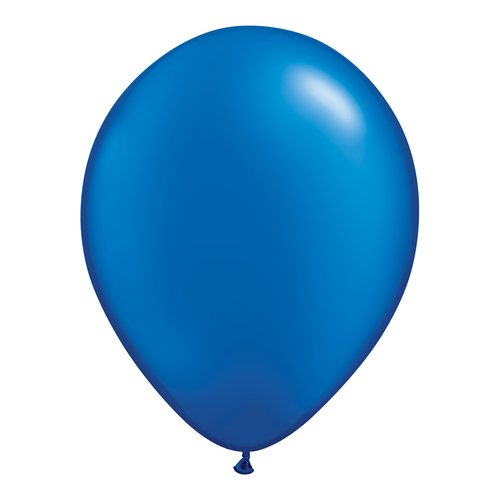 Pearl Sapphire Blue Balloons