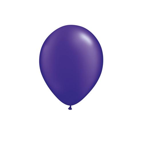 Pearl Purple Mini Balloons
