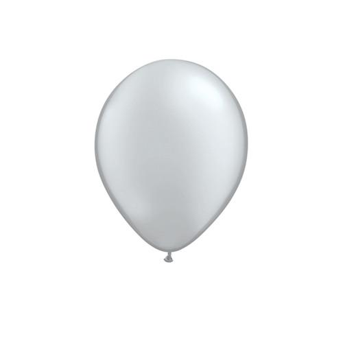 Silver Mini Balloons