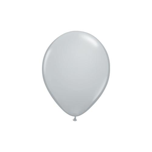Grey Mini Balloons