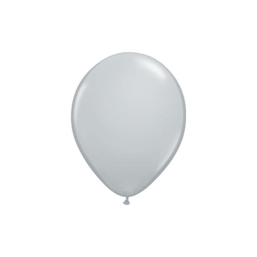 Grey Mini Balloons