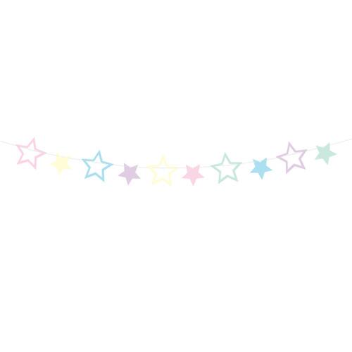 Pastel Star Garland