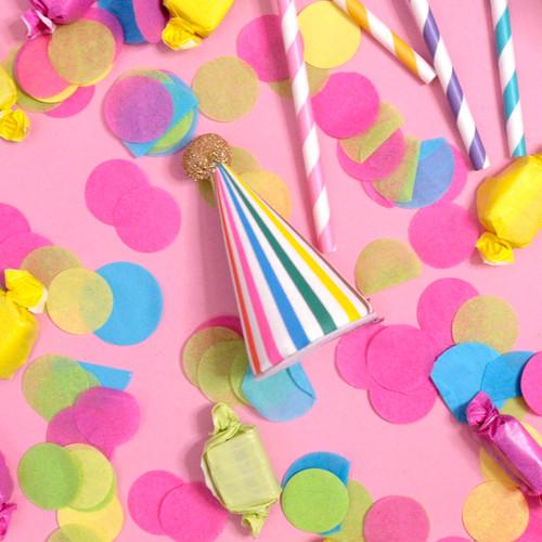 Mini Rainbow Birthday Hat Party Accessory