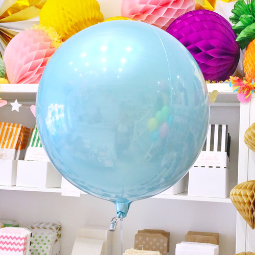 Pastel Blue Orb Balloon Party Decoration for Birthdays, Weddings and Baby Showers