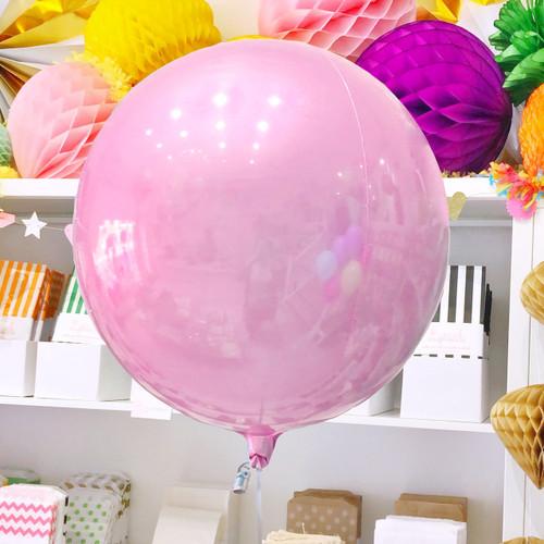 Pastel Pink Orb Balloon