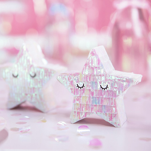 Mini Star Piñata for Pastel Themed Birthdays, Hen Parties and Baby Showers