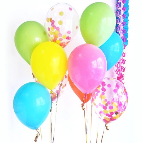 Fiesta Mix Balloons