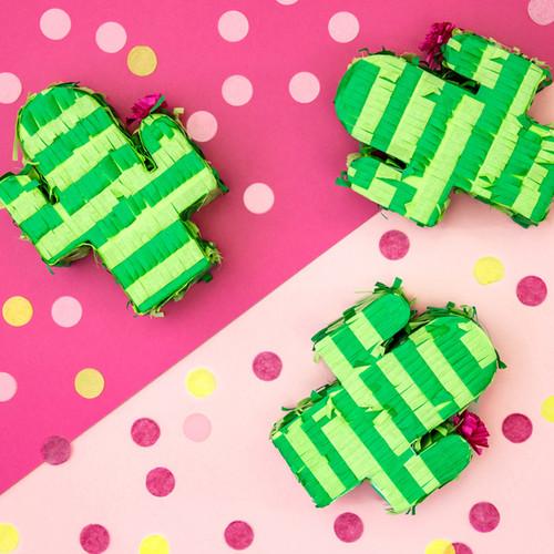 Mini Cactus Piñata