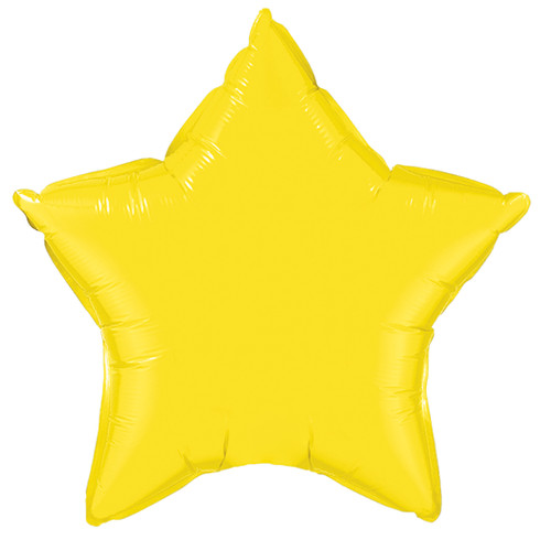 Small Yellow Star Foil Balloon