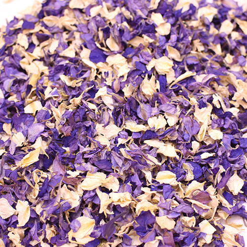 Lilac Natural Petal Confetti for Weddings, Baby Showers and Table Decor