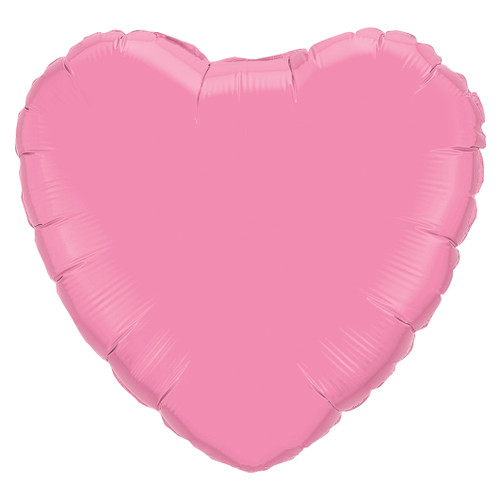 Small Light Pink Heart Foil Balloon for Birthdays, Weddings, Hen Parties and Baby Showers