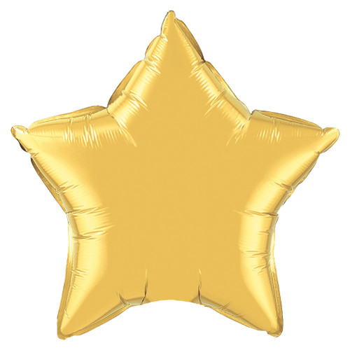 Small Gold Star Foil Balloon