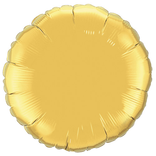 Small Gold Round Foil Balloon