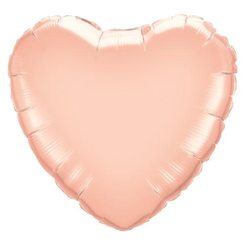Small Rose Gold Heart Balloon